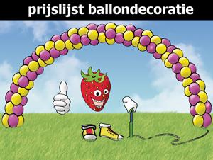 prijslijst-ballondecoratie